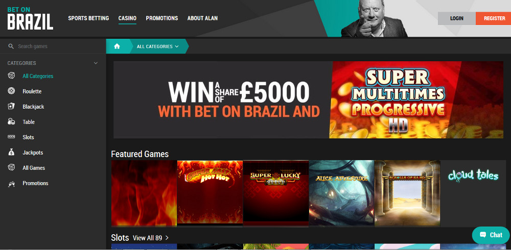 Bet on Brazil Casino